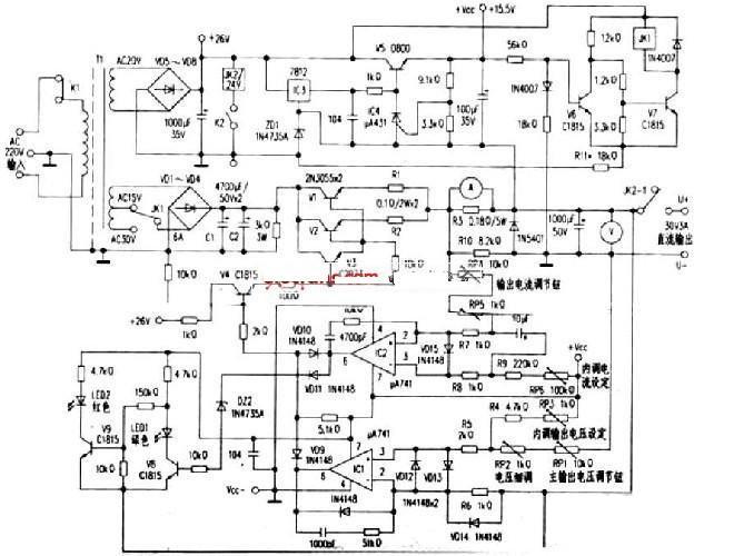 vd100系列变频器接线图